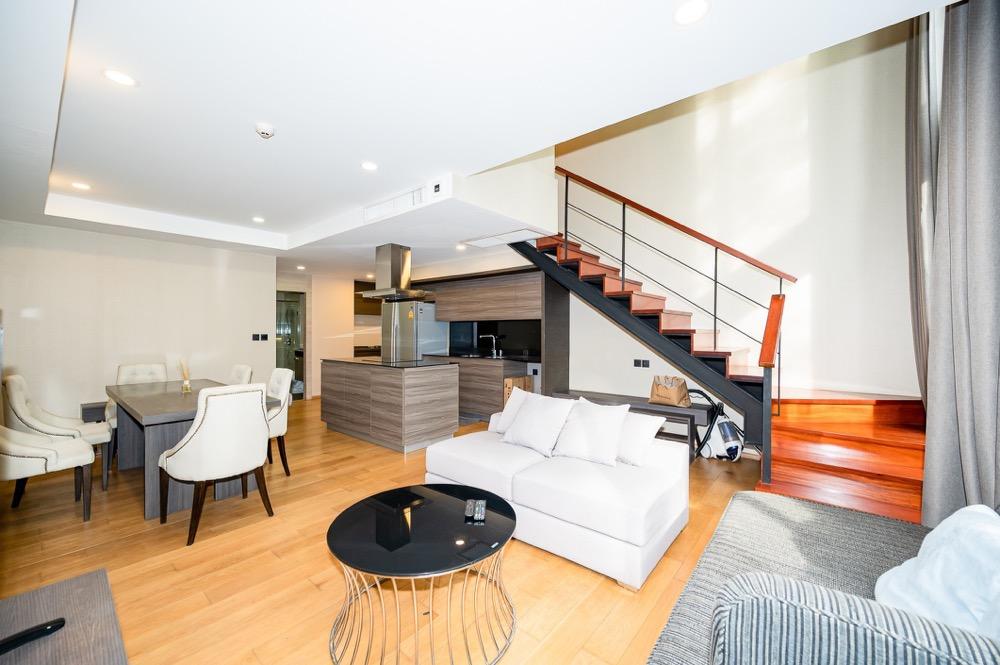 For SaleCondoWitthayu,Ploenchit  ,Langsuan : Duplex 3 bedrooms: Klass Langsuan.
