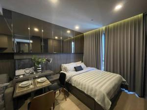 For RentCondoSiam Paragon ,Chulalongkorn,Samyan : For rent Ashton Chula 25 sqm. Beautiful room, high floor. Complete electrical appliances There is a washing machine 082-459-4297