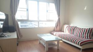 For SaleCondoRatchadapisek, Huaikwang, Suttisan : Condo for sale LPN Meng Chai intersection, 2 bedrooms, 2 bathrooms, corner room 73 sqm, 3.5 million