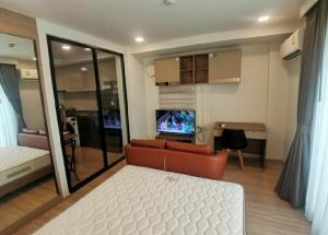 For RentCondoAri,Anusaowaree : Condo for rent Maestro 07 Victory 💥 walk to Victory Monument BTS just 80 meters 💥 The center of traffic, convenient to travel Complete appliances, size 29 sq m, 7th floor, 1 bedroom, 1 bathroom, 1 kitchen 💰 Rental price: 17,000 baht
