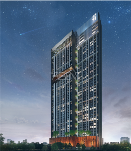 Sale DownCondoOnnut, Udomsuk : For Sale Whizdom Inspire Sukhumvit Closed to BTS Punnawhiti