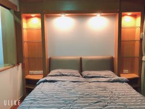 For RentCondoRama3 (Riverside),Satupadit : Condo for rent, PST CITY HOME,  24 floor, mice view, fully furnished