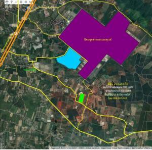For SaleLandChachoengsao : Vacant land Near the Gateway Industrial Estate, Plot Yao (TorLor 331)