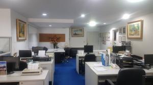 For RentOfficeSilom, Saladaeng, Bangrak : Office for Rent & Sales at State Tower (  120 sq.m on  28th floor) City view