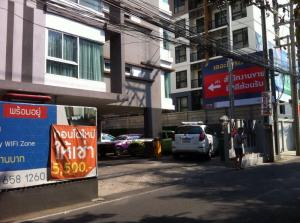 For SaleCondoRattanathibet, Sanambinna : Condo for sale, A Plus, 1st floor, Soi Rewadee, suitable for commercial and residential purposes.