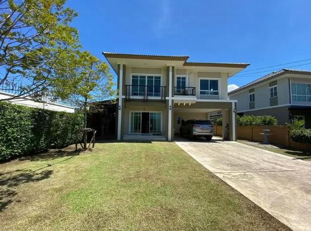 ขายบ้านรังสิต ธรรมศาสตร์ ปทุม : ขายบ้านโครงการ ภัสสร 26 (ราชพฤกษ์-ติวานนท์) 94.5 ตรว. หลังมุม
