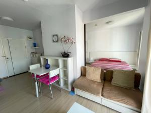For SaleCondoOnnut, Udomsuk : Condo A Space Sukhumvit 77 for sale close to BTS On nut