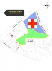 For SaleLandPrachin Buri : Urgent sale, vacant land, area 65-1-62 rai, next to Kabinburi hospital, cheap land suitable for investment Commercial residential