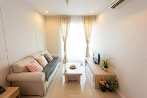 For RentCondoRama9, RCA, Petchaburi : MN473 Circle Condominium Phetchaburi 36 near MRT Phetchaburi Size 48 sq m.