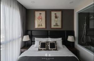 For RentCondoSiam Paragon ,Chulalongkorn,Samyan : Ten thousand main rental, million views 🔥 Ashton Chula 2B 2B, the most beautiful room in the building, fully furnished, ready to move in appliances 082-559-4297