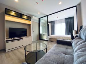 For SaleCondoRattanathibet, Sanambinna : ⚡️⚡️Flash Sale⚡️⚡️🚨 Selling cheap price Negotiable ราคา With a tenant for a 1-year contract, The Politan Reef Condo, fully furnished, electrical appliances. Close to MRT Phra Nang Klao Bridge