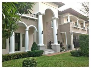For RentHousePinklao, Charansanitwong : RSH315 Single House For Rent Enrich Park Pinklao Aldora 6 Bedroom House Type Near The Paseo Park 65,000 B / m.