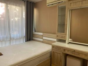 For RentCondoLadkrabang, Suwannaphum Airport : For rent, AIRLINK RESIDENCE, near Suvarnabhumi Airport, 1 bedroom separate living room