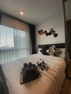 For RentCondoBangna, Lasalle, Bearing : New room for rent, just finished decoration! 1 BED Notthinghill Sukhumvit 105 near BTS Bearing.
