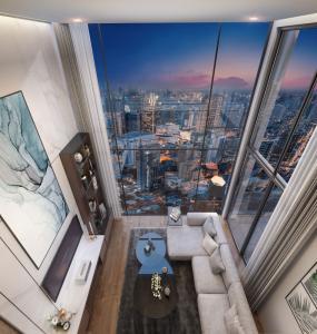 Sale DownCondoSukhumvit, Asoke, Thonglor : Cloud Skv.23, 3-bed Loft, high floor, only 177, xxx baht / sq m.