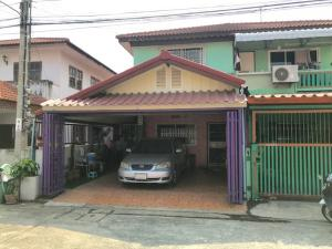 For SaleTownhouseBangbuathong, Sainoi : Townhouse 24 square wa., Bang Yai district, Phra Pin University 3, good location, beautiful house, no need to repair Ready to move in Near the central west gate