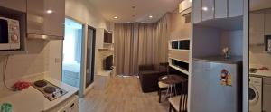 เช่าคอนโดพระราม 9 เพชรบุรีตัดใหม่ : ปล่อยเช่าคอนโด IDEO Mobi MRT พระราม9, 1 ห้องนอน,1 ห้องนั่งเล่น,1 ห้องน้ำ, 32 ตรม: 16,000 บาทต่อเดือน
