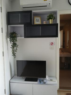 For RentCondoSukhumvit, Asoke, Thonglor : For rent The Tree Sukhumvit 71 - Ekamai 1 bed 27 sqm. North fully furnished