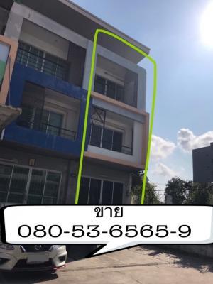 ขายตึกแถว อาคารพาณิชย์พัฒนาการ ศรีนครินทร์ : ขายอาคารพาณิชย์ 3 ชั้น สภาพสวย น่าอยู่เหมาะทำออฟฟิต สำนักงาน- ที่ตั้ง ซ.ศรีด่าน22 ถ.ศรีนครินทร์- หลังมุม