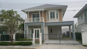 For RentHouseKaset Nawamin,Ladplakao : For rent 35,000 Chuan Chuen City Northville-Watcharapol, new 2-storey house, 3 bedrooms, 3 bathrooms, 58 square wa 0905594455