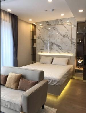 For RentCondoSiam Paragon ,Chulalongkorn,Samyan : Urgent for rent Ashton Chula-Silom, new room, beautiful view, 40+ high floor, fully furnished, ready to move in 082-459-4297