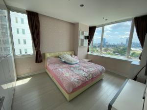 For SaleCondoRama9, RCA, Petchaburi : Corner room for sale, beautiful view, flow wind, fully furnished, ready to move in TC Green Rama 9_1 bedroom 39 sq m.