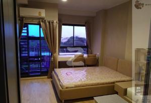 For RentCondoRama9, RCA, Petchaburi : Sale / Rent Ideo New Rama 9, 6th floor, Building A, usable area 24 square meters, studio 1 bathroom, rental price 9,000.00 baht