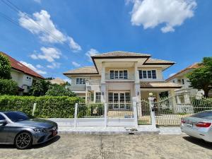 ขายบ้านรังสิต ธรรมศาสตร์ ปทุม : ขายบ้านเดี่ยว ม.สถาพร ติดLotusรังสิตคลอง3 แปลงสวย หลังใหญ่ 116 ตร.วา
