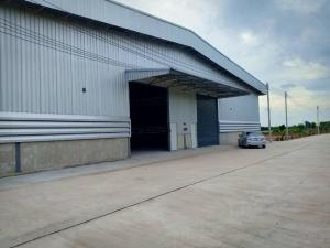 For RentWarehouseBangbuathong, Sainoi : For rent, new building, factory - warehouse, area 900 sq m, floor can accept water 3 tons / sq m, Wat Thong Saen Klong Phra Udom, Lat Lum Kaeo District, rental price 108,000 baht / month