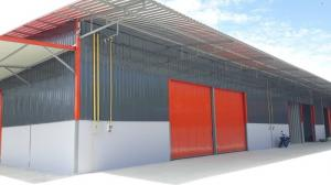 For RentWarehouseBangbuathong, Sainoi : Warehouse for rent 150 sq m., Bang Yai area, near Central Westgate