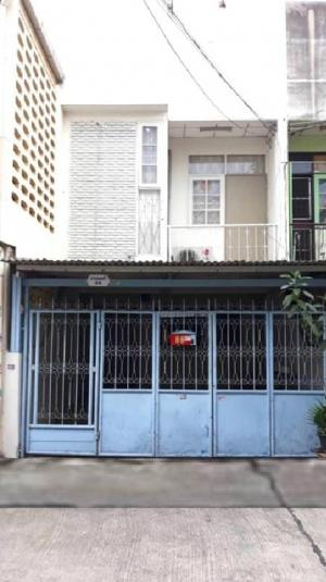 For RentTownhouseOnnut, Udomsuk : For rent, Townhouse, 2 floors, 18 sq m, Soi On Nut 50.