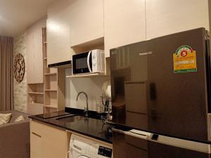 For RentCondoRatchadapisek, Huaikwang, Suttisan : For rent: Noble Revolve Ratchada 1, new luxury condo, new room, 2 bedrooms, special price !!!!!