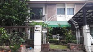 For SaleHousePattanakan, Srinakarin : H129-2 storey house for sale, Pruksa Ville 57 Pattanakarn, corner house, convenient for all travel, Airportlinkl, Hua Mak and BTS On Nut ready to move in.