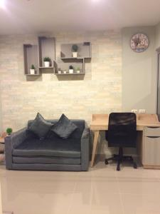 For RentCondoRama9, RCA, Petchaburi : For Rent! at Aspire Rama9 1 Bedroom 1 Bathroom 13,000THB/Month Fully furnished Code K-0067