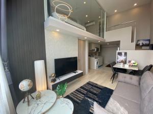 For RentCondoSathorn, Narathiwat : ✯✰ KnightBridge Prime Duplex for rent 57 sqm, Rare room, largest, very beautiful room ✯✰