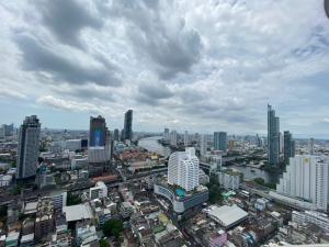 ขายคอนโดสีลม ศาลาแดง บางรัก : State tower 3BR for sale (corner unit)173.84 sqm(88,529/sqm)high floor