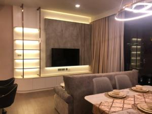 For RentCondoSukhumvit, Asoke, Thonglor : for rent 🏢 Celes asoke New condo  type 2 bed 2 bath  size 86 sq.m fully furnished floor 15  city view  Best price 65k  !!! ✅✅✅ contact porto 062-2189555 Line : i-portofc