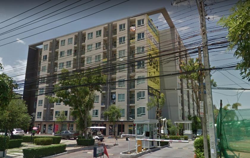 For RentCondoLadkrabang, Suwannaphum Airport : Condo for rent, Iris Avenue Lat Krabang-On Nut, ready to move in, 28 sqm, starting price 6,000 baht