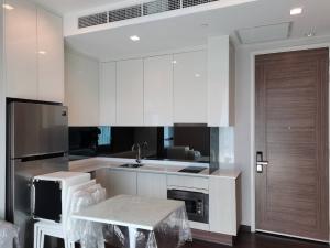 For SaleCondoRama9, RCA, Petchaburi : Best price, 38 sqm., High floor, pool view, 1 hand room, very new condition