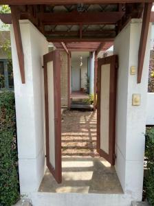 For SaleHouseNakhon Pathom, Phutthamonthon, Salaya : House for sale 105 sq m, resort style, fully furnished, teak wood
