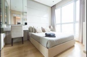 For RentCondoRama9, RCA, Petchaburi : For Rent The Address Asoke, 1 bedroom, 36 sq m, ready to move in @JST Property.