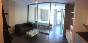 For RentCondoBangna, Lasalle, Bearing : For rent, Swift Condo (Swift Condo) ABAC Bangna Trad km.26, fully furnished The owner rented himself a studio room.