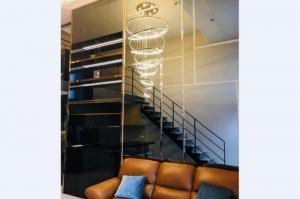 เช่าคอนโดสีลม ศาลาแดง บางรัก : ให้เช่า เดอะ ลอฟท์ สีลม [The Lofts Silom] ✅ ห้อง Duplex