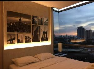 For RentCondoOnnut, Udomsuk : For rent The Room Sukhumvit 69, 11th floor, 25000 baht/month