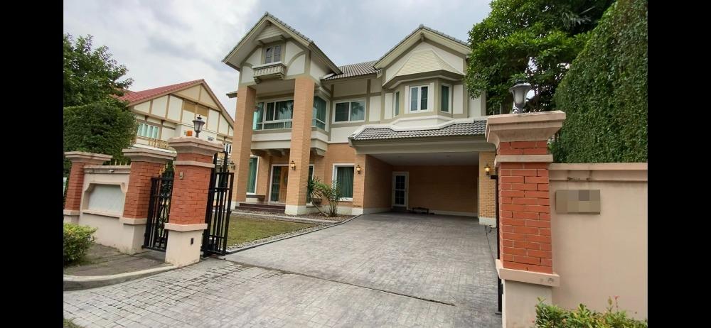 For SaleHouseRama5, Ratchapruek, Bangkruai : 2 storey luxury detached house for sale, Q.House Avenue, Ratchapruek - Rama 5, fully furnished.
