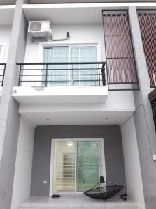 For RentTownhouseHatyai Songkhla : 2 storey house for rent, new, clean, safe