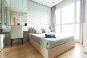 For RentCondoRama9, RCA, Petchaburi : For rent, The Address Asoke, price only 20k, beautiful room, near BTS Phetchaburi