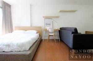 For RentCondoSathorn, Narathiwat : FOR RENT !! Condo OneX sathorn-narathiwas Studio 32 sqm. Fully furnished. Ready to move in, only 10,000.-