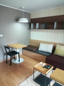 For RentCondoRatchadapisek, Huaikwang, Suttisan : For rent U delight Huai Khwang 9500 บาท!