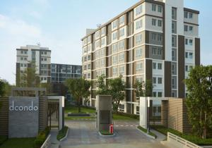 For SaleCondoRangsit, Patumtani : Quick sale, free transfer! D Condo Rangsit Phase 2
